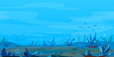 Underwater Landscape Game Background