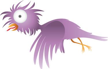 Vogel Lila