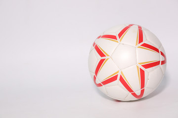 Football is used for practice before the World Cup.