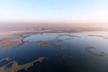 Izmir birs heaven aerial view.
