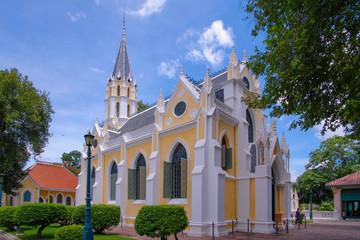 Niwesthammaprawat temple, Gothic stye. Ayutthaya , Thailand