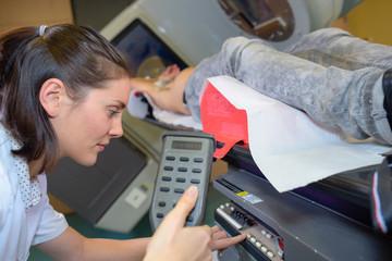 Nurse programming scanner