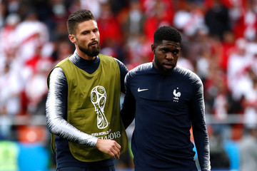World Cup - Group C - France vs Peru