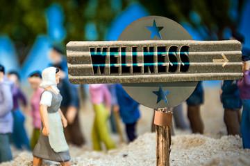 Schild 310 - Wellness