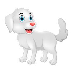 Happy dog illustration