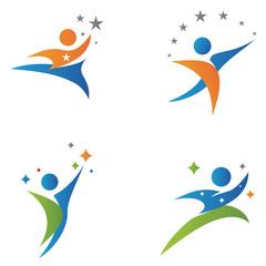 People Success Business Health Logo