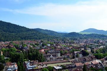 Blick auf Freiburg-Wiehre