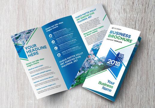 Tri-Fold Brochure Layout