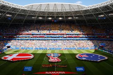 World Cup - Group C - Denmark vs Australia
