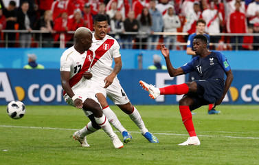 World Cup - Group C - France vs Peru