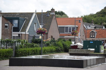 Brunnen in Egmond aan Zee, Holland