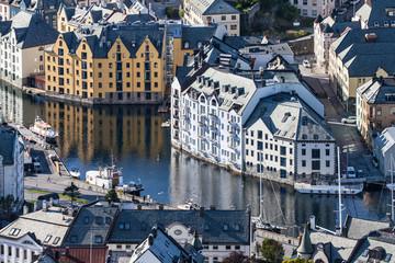 Jugendstil Buildings in Alesund