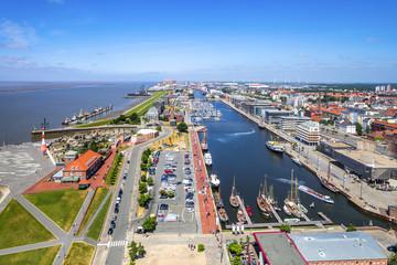 Bremerhaven, Hafen, Ausblick