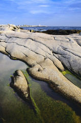 Rocky shoreline at Peggy's Cove