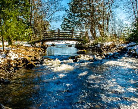 Bridge over a Brook