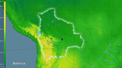 Bolivia, annual range - composition