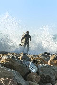 Mavericks Surfer