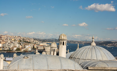 Outer view of dome in Ottoman architecture