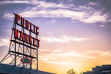 Infamous Seattle Market