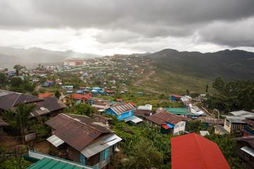 Settlement in Mountains - Burma