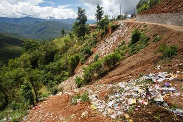 Rubbish - Falam, Myanmar (Burma)