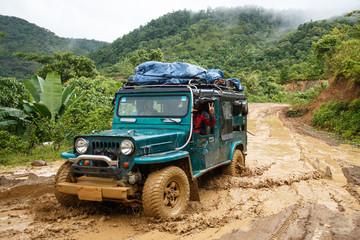Extreme Driving Through Chin State, Myanmar
