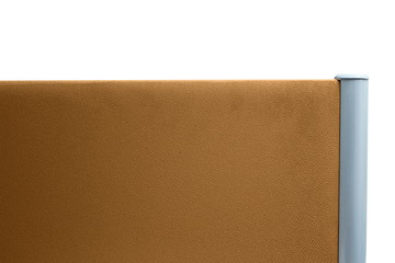 partition office brown color isolated on white background