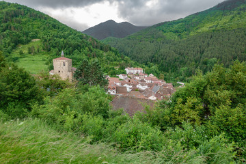 Isaba village in Navarre