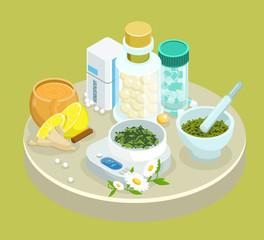Isometric Alternative Treatment Medications Template