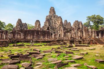 Bayon temple in Siem Reap
