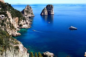 Faraglioni à Capri