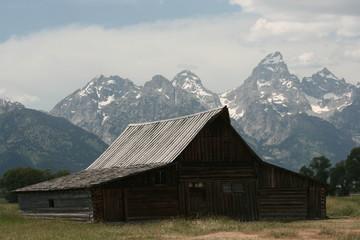 Barn around The Grand Teton National Park 15