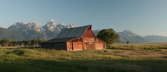 Barn around The Grand Teton National Park 10