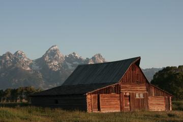 Barn around The Grand Teton National Park 9
