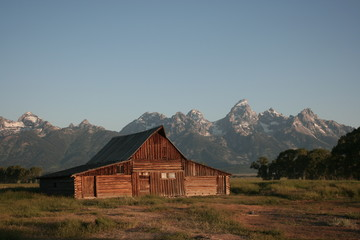 Barn around The Grand Teton National Park 6