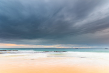 Overcast Skies and Seascape