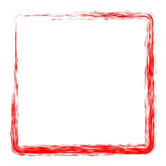 red square frame