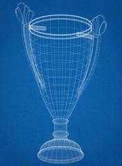 Trophy Design Architect Blueprint