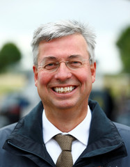 Lubbers, co-founder of Dutch charging company Fastned, poses for a picture in Limburg