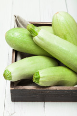 Diet zucchini background, squash food.