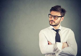 Portrait of a confident business man