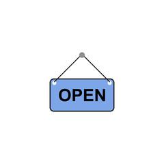 Open sign fod door
