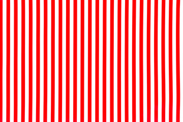 White and red striped background surface