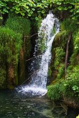 Waterfalls at Plitvice in Croatia
