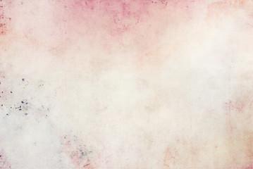 Beautiful romantic background in watercolor light colors canvas texture