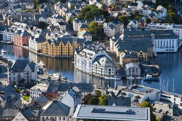 City Centre of Alesund
