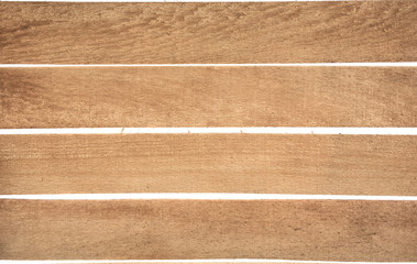 wooden slats on a white background