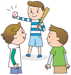 子供 野球 遊び