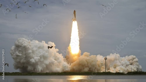 future rocket taking off - 946×710