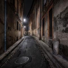 Photo sur Plexiglas Ruelle etroite Rue Toulouse